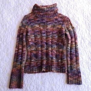 Express Turtleneck Sweater Wool Blend